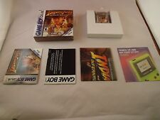 Indiana Jones and the Infernal Machine (Nintendo Game Boy Color, 2001) COMPLETE