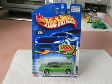 2001-02 Hot Wheels Green '68 Mercury Cougar 17 of 42 #029 Collector Model NOC