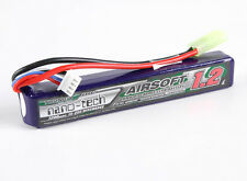 New Turnigy nano-tech 1200mah 3S 15C 25C 11.1V Lipo Battery Airsoft Pack US