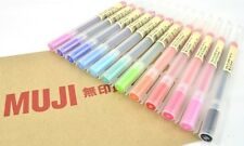 MUJI Japan Gel Ink Pen 0.5 mm x 12 Colors Set (Made in Japan) Free Shipping