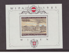 Austria 1981 Architecture  WIPA Stamp Exhibition MNH mint stamp SGMS1893