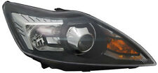 Black clear finish Right side D1S / H1 Xenon headlight for FORD Focus II from 08