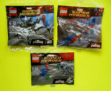 3x Lego Super Heroes 30302 30305 30448 Spiderman The Venom Polybag Neu Ovp