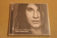 Sylwia Grzeszczak - Tamta dziewczyna  (CD)  POLISH NEW SEALED