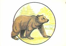 B0221 Romania Ours Bear Ursus Arctos  front/back scan
