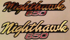 HONDA CB650 CB650SC NIGHTHAWK SIDE PANEL DECALS