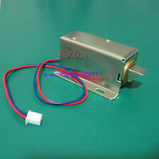 Cabinet Door Electric Lock Assembly Solenoid DC 24V 1.5A FOR Drawer/Sauna Lock