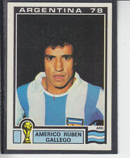 Panini - Argentina 78 World Cup - # 51 Americo Gallego - Argentina