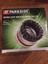 Parkside Wire Cup Brush PWSZ 125 A1 NEW In box Paint Cars