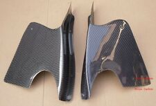 RE-GT Style Carbon Fiber Front Canards Fit For Mazda RX7 FD3S Front Bumper