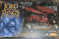 Games Workshop Lord of the Rings Dragon Metal NIB LoTR Smaug Complete Boxed OOP
