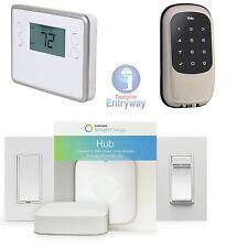 Home Automation Starter kit, Samsung, Leviton, Linear, Yale Zwave Smart Things