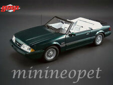 GMP 18815 1990 FORD MUSTANG CONVERTIBLE LX 7-UP 1/18 DIECAST MODEL CAR GREEN