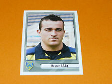 N°213 BABY CLERMONT ASM AUVERGNE PANINI RUGBY 2007-2008 TOP 14 FRANCE