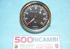FIAT 500 F/L/R CONTACHILOMETRI ABARTH STRUMENTO CRUSCOTTO TUNING DA 80 COL NERO