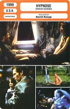 FICHE CINEMA FILM USA HYPNOSE/STIR OF ECHOES Réalisateur David Koepp