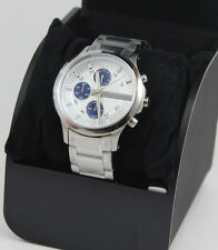 NEW AUTHENTIC ARMANI EXCHANGE SILVER  CHRONOGRAPH MEN'S AX2139 WATCH