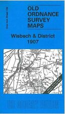 MAP OF WISBECH & DISTRICT 1907