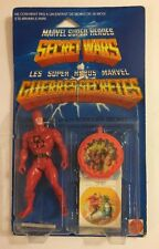Mattel Marvel Super Heroes Secret Wars Rare Multi Lingual Daredevil 1984