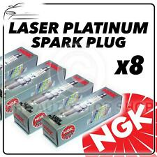 8x NGK SPARK PLUGS Part Number BKR6EQUP Stock No. 3199 New Platinum SPARKPLUGS