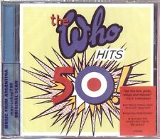 THE WHO HITS 50 SEALED CD NEW 2014 REMASTERED GREATEST HITS BEST