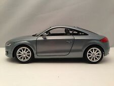 Minichamps Audi TT Coupe Quattro Gray Diecast Car Model 1/18