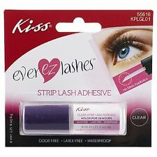 KISS Ever EZ lashes strip lash adhesive with easy application tool *latex free*