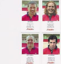 "WELSH LANGUAGE BOARD - ""Scarlets"" Set of 23 odd Rugby Cards"
