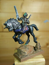 CONVERTED METAL EMPIRE PISTOLIER CAPTAIN ON ELVISH STEED PAINTED (503)