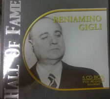 BENIAMINO GIGLI - The Best of - 5 cd Box - incl. 40 page booklet