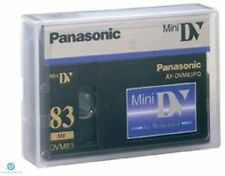 25 Panasonic Mini DV Tape AY-DVM83PQ Professional Quality 83min - UK NEW Genuine
