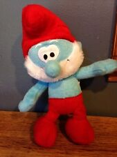 Papa Smurf Plush Stuffed Toy