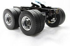 1/14 all metal CNC dolly tractor trailer car for Tamiya DIY MAN Scania 1851