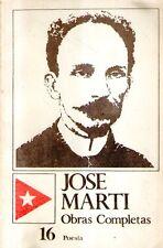 A30 Jose Marti Obras completas Poesia