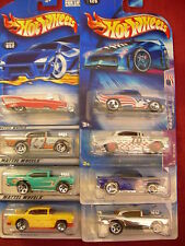 Hot Wheels Lot of 8 Shoebox Chevy Types!! All diffferent Lot #1