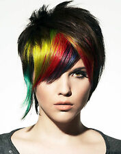 PAUL MITCHELL RAINBOW HAIR STYLING COLOR SALON ART POSTER DESIGN PRINT POSTER