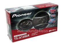 "Pioneer TS-A1686R 350 Watts 6.5"" 4-Way Coaxial Car Audio Speakers 6-1/2"" New"