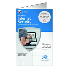 McAfee Internet Security 2015 - 3 PCs MIS15EAM3RAA