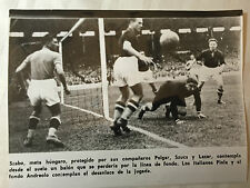photo press football  Coupe du Monde 1938  Finale Italie -Hongrie         584