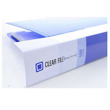 A4 100 Pockets Clear File for Display Presentation Document Folder Book 5 Color