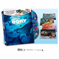 NEW DISNEY PIXAR FINDING DORY BLU RAY DVD TARGET EXCLUSIVE STEELBOOK FREE SHIP