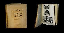 [VOYAGES] 11 [Onze] mois en Afrique du Sud / Journal de voyage. 1940.