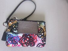 Coach Poppy Blossom Wristlet perfect