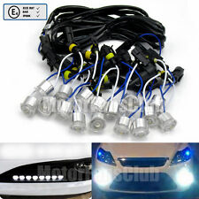 Fog Light DRL 16 LED Eagle Eye Daytime Running Light Flexible E mark Universal