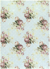 Ricepaper/ Decoupage paper,Scrapbooking Sheets /Craft Paper Shabby Chic Roses M