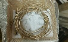 Willys Jeep WW2 brake pipe set in kunifer pipe with brass nuts hard brake lines