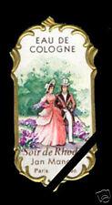 Vintage French Perfume Bottle Label Antique Soir De Rhodes Lyon Paris France