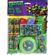 Teenage Mutant Ninja Turtles Birthday Favors Pinata Bag Filler Prizes Decoration