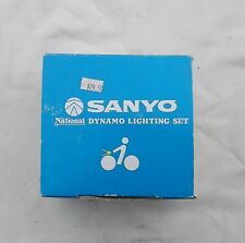 New Sanyo Dynamo Lighting Set Light for Old Classic Bicycle