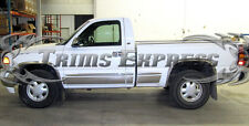"1999-2006 Chevy Silverado Regular Cab Short Bed Rocker Panel Trim-10pc 6""w/Flare"